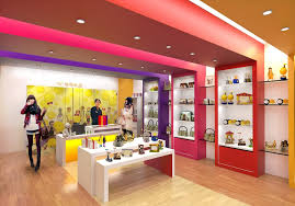 design shop shop design gift to give 專櫃設計 奇奇禮品 g2g rendering 縱向深型