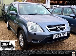 honda jeep 2004 used honda cr v 2004 for sale motors co uk