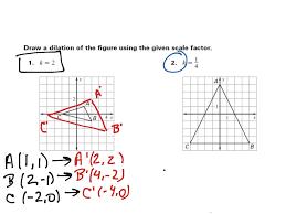 showme geometry dilation