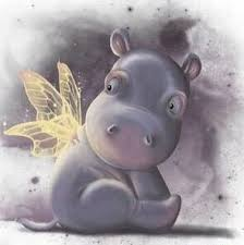 si e social hippopotamus hippo i that on my back
