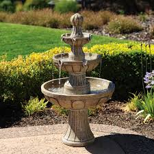 stunning decoration backyard water fountains entracing outdoor