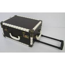 Rolling Makeup Case With Lights Pvc Trolley Beauty Lamp Case Rolling Makeup Case With 2 Lights