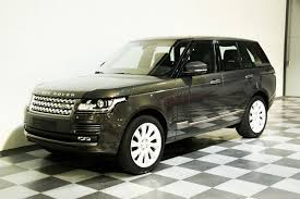 jeep range rover black dream garage sold carsland rover range rover autobiography 4 4 sdv8