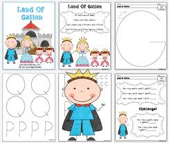land of gallon worksheets freebie the land of gallon math