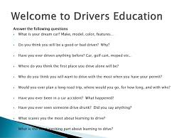 what u0027d you drive before getting behind the wheel u2026 mrs dias ppt download