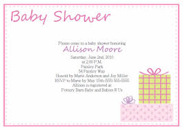 baby shower for baby shower invitation wording exles invitations ideas