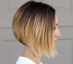 short cut tri color hair top ombre hair colors for bob hairstyles popular haircuts