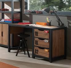 bureau stylé bureau style industriel alex