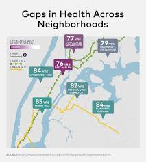 Vcu Map Social Determinants Of Health How A Few Miles Can Be The