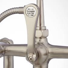 Bathtub Faucet Shower Majestic Design Ideas Bathtub Faucet With Diverter For Shower Home