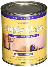 Wood Finishing Techniques Glazing by Amazon Com True Value Sacg1 Qt Simply Glaze Acrylic Clear Glaze
