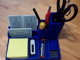 Post It Desk Organizer Desktop Organizer By Jsquaredz Thingiverse Items To 3d Print
