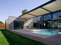 beautiful backyard ponds small modern house design with pool