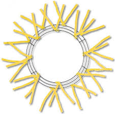 wreath forms 15 24 work wreath form yellow