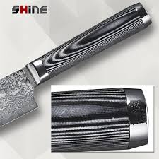 shine brand 8 inch kitchen chef knife high quality damascus veins
