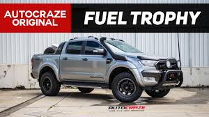 ford ranger road tyres offroad ravage fuel trophy wheels bf goodrich tyres ford