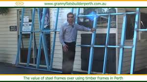 steel frame versus timber frame explain by granny flats builder