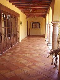 spanish floor love the saltillo tile this is what i need for my finca in colombia