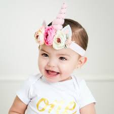 flower headband unicorn flower headband think pink bows