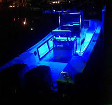led boat deck lights strip lights courtesy lights underwater