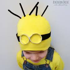 Despicable Minion Costume Sew Despicable Minion Halloween Costume Atkinson Drive