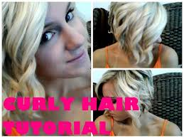 styling a sling haircut how i curl my a line bob using a curling wand youtube