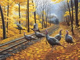 turkey tracks jigsaw puzzle puzzlewarehouse
