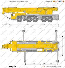 the blueprints com vector drawing liebherr ltm 1220 5 2 mobile