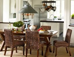 pottery barn dining room the cortona extending dining table from