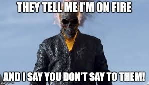 Ghost Meme - ghost rider is annoyed with people meme by superluigi1025 on deviantart