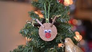 reindeer clothespin ornaments kid craft glued to my
