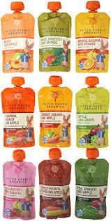rabbit organics reviews rabbit organics 100 baby food 10 flavor variety pack