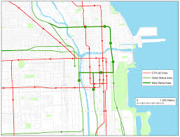 Map Of Cta Chicago by Fantasy Transit In Chicago A Proposal Liberal Landscape