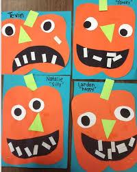 Halloween Arts And Crafts Ideas Pinterest - best 25 pumpkin preschool crafts ideas on pinterest pumpkin