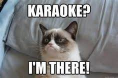 Funny Karaoke Meme - i cherish the opportunity to drink heavily and sing karaoke