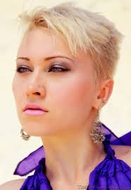 very short pixie hairstyle with saved sides pixie hairstyles with shaved side hairstyles ideas