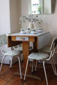 Pine Drop Leaf Table And Chairs Rustic Vintage Pine Drop Leaf Table With Turned By Arthurandede