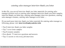 catering sales manager