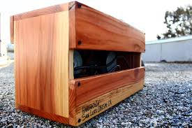 custom guitar cabinet makers handmade acoustic guitar amp by salvage audio custommade com