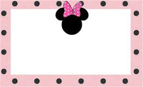 inspired minnie mouse free printable party invitations pink