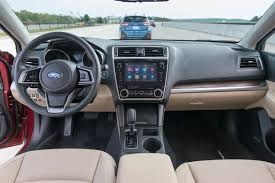 subaru tribeca 2017 interior 2018 subaru outback review first drive a refresh with major updates