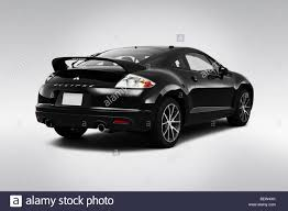 eclipse mitsubishi black 2010 mitsubishi eclipse gs sport in black rear angle view stock