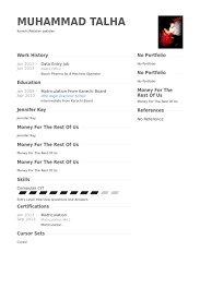 Two Column Resume Simple And Easy To Use Data Entry Resume Sample With Two Column