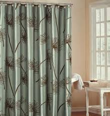 Designer Shower Curtain Decorating Luxurious Shower Curtains With Valance Images Us House And Home