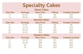 cake prices how to order a specialty cake christies and lil zs sweet