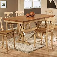 counter height dining table with leaf amazon com winners only quails run counter height dining table