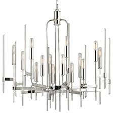 Modern Light Chandelier Bari Sixteen Light Chandelier Modern Chandeliers By Hudson