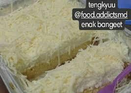 resep milkbath cake tres leches cake oleh emaarahmah cookpad