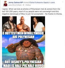 Samoan Memes - the real life problem with body shaming a cartoon polynesian the