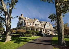 New England Beach House Plans by Charming New England Coastal Home With Amazing Details